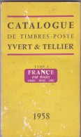 Yvert Et Tellier 1958  - 400 Pages - France