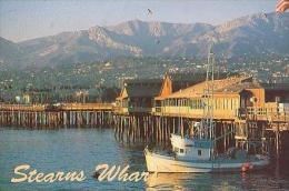 Santa Barbara        H137       Stearns Wharf      ( Voir Timbre ) - Santa Barbara
