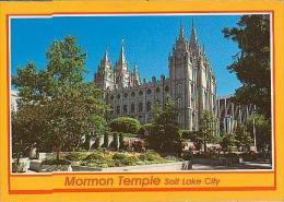 Salt Lake City        H138       Mormon Temple     ( Voir Timbre ) - Salt Lake City