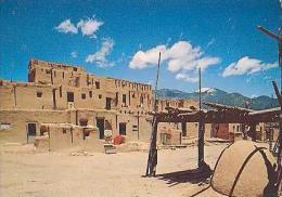 TAOS        H139       Taos Pueblo        ( Voir Timbre ) - Etats-Unis