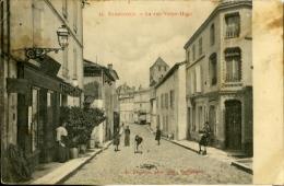 BARBEZIEUX La Rue Victor Hugo - France