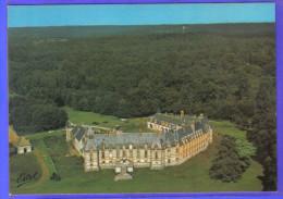 Carte Postale 78. Gambais  Le Chateau De Neuville  Vue D'avion   Très Beau Plan - France