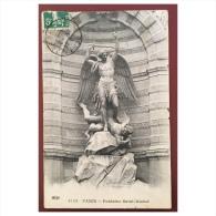 Paris  Fontaine Saint Michel  4133  ELD - Statues