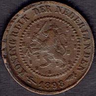 Netherlands, ½ Cent 1898 - [ 3] 1815-… : Koninkrijk Der Nederlanden