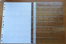 N° 16 INTERNI DI PLASTICA USATI DI MONETE CON CARTONCINO - - Materiale