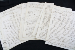 14 Old Documents, Fabra Y Cª  Habana, Cuba Company Letters From 1891 - Handwritten - Estados Unidos