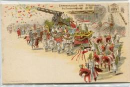 CPA 67  STRASBOURG STRASSBURG CARNEVALSZUG 1900 DIE FRIEDENSKANONE - Strasbourg