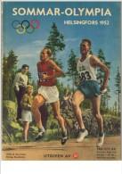OLYMPICS OLYMPIA OLIMPIADI LES JEUX OLYMPIQUES DE 1952 – HELSINKI - Books, Magazines, Comics