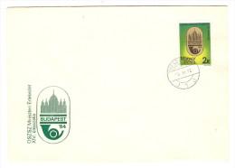 HONGRIE HUNGARY FDC PREMIER JOUR VESZPREM 22/11/1984 OSZSZ MINISZTERI ERTEKEZLET XIV ULESSZAKA BUDAPEST 1984 - FDC