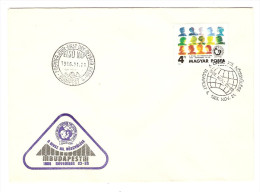 HONGRIE HUNGARY FDC PREMIER JOUR BUDAPEST 21/11/1986 A DIVSZ NOZGYULESE - FDC