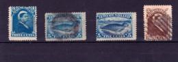 Newfoundland, 1880/1887 Small Selection, Used (2188) - Newfoundland