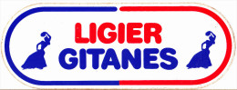 ADESIVO - STICKER - LIGIER GITANES - Autres