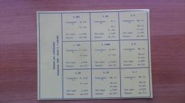 N° 30 CARTONCINI DEL 1970 DELLA DIVISIONALI REPUBBLICA ITALIANA  - - Materiale