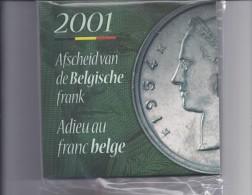 FDC-muntenset 2001 Origineel Geseald - 1993-...: Albert II