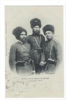 14090 - Types De Russie Sotnia De La Garde Impériale Cosaques De L'Oural 2 Scans - Russie