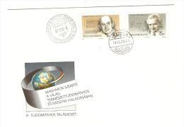 HONGRIE HUNGARY FDC PREMIER JOUR SZEKESFEHERVAR 3/8/1992 III TUDOMANYOS TALALKOZO - FDC