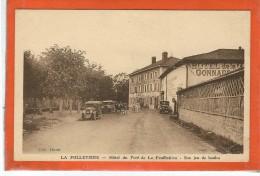 Seine Maritime : La Folletière, Hotel Du Pont De La Feuilletière, Son Jeu De Boules - Francia