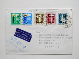 Cover Sent From Germany DDR Bird Dove - [6] Oost-Duitsland