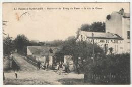 92 - LE PLESSIS-ROBINSON - Restaurant De L'Etang Du Plessis Et La Voie De Chasse - Javelle - 1910 - Le Plessis Robinson