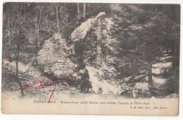 42 NOIRETABLE  Ruine D'une Vieille Scierie Avec Turbine, Cascade - Noiretable