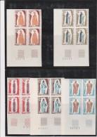 MAURITANIE - N°286 A 290 BLOC DE 4 NON DENTELE  NEUF XX  ANNEE 1970 - Mauritania (1960-...)
