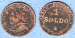 Vatican 1 Soldo 1867  PIUS IX - Vaticano (Ciudad Del)