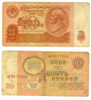 URSS: 10 Rubli 1961 - Russia