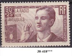FRANCE ANNEE 1938 N° 417 NEUF*** - Unused Stamps
