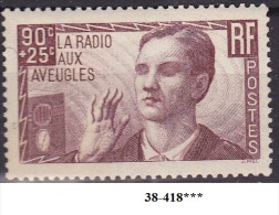 FRANCE ANNEE 1938 N° 417 NEUF*** - Nuovi