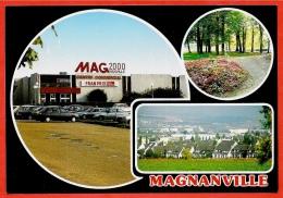 CPM 78 MAGNANVILLE Yvelines - Centre Commercial MAG2000 Franprix ° Editions Dubray Multi Vues Multiples Multivues - Magnanville