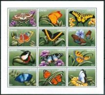 1996 Liberia Farfalle Butterflies Schmetterlinge Papillons Set MNH** Spa285 - Liberia