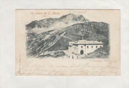 CARTOLINA IV CANTONIERA DELLO STELVIO VIAGGIATA 1898 / POSTCARD - Bolzano