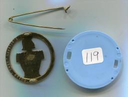 119 - INSIGNE DE BERET TRANSMISSIONS DELSART PLEIN - Esercito