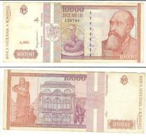 Romania: 10.000 Lei 1994 - Rumania