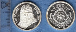 JETON MODERNE ROI SOLEIL LOUIS XIV - 751-987 Monnaies Carolingiennes