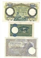 ALBANIE 5 + 20 FRANGA 1939 E YUGOSLAVIA 100 DINARA 1929 LOTTO 1054 - Albania