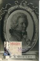 6232 Portugal,  Maximum 2007   Amadeus Mozart    Card Vintage - Music