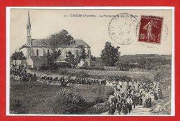 29 - TREZIEN --  La Procession , Le Jour Du Pardon - France