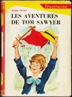 Mark Twain - Les Aventures De Tom Sawyer - Rouge Et Or Souveraine N° 632 - ( 1962 ) . - Bibliothèque Rouge Et Or