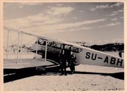 AIRPLANE DE HAVILLAND D.H. 84 DRAGON - MISR AIRWORK / EGYPT - VRAIE PHOTO ~ 9,5 X 13 CM / REAL PHOTO ~ 1933  (t-961) - 1919-1938: Entre Guerres