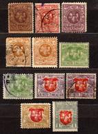 LITAUEN 1919 - MiNr: Lot 11 X   Used + */MH - Lithuania