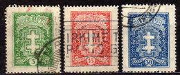 LITAUEN 1929 - MiNr: 288-290  Komplett Used - Litauen