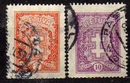 LITAUEN 1931 - MiNr: 314-315 Komplett  Used - Litauen