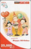 Laos Phonecard Happy Birthday - Laos