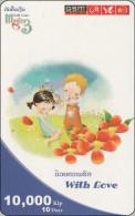 Laos  Phonecard     Children With Love - Laos