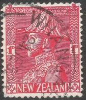 New Zealand. 1926-34 KGV. 1d Used. P 14X15 SG 468e - 1907-1947 Dominion
