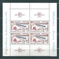 France PHILATEC N° 1422 Avec Vignette Bloc De 4  Neuf ** Sans Charnière Cote Des Timbres 120€ - Ungebraucht