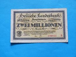 GERMANY   2000000  MARK   1923 - 2 Millionen Mark