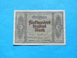 GERMANY   50000  MARK   1923 - [ 3] 1918-1933 : Weimar Republic