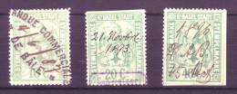 901 - BASEL STADT Fiskalmarken - Fiscaux